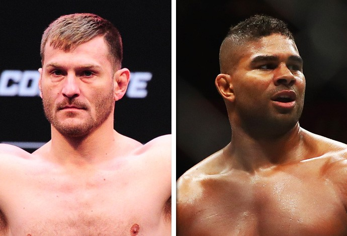 Stipe Miocic e Alistair Overeem (Foto: Getty )