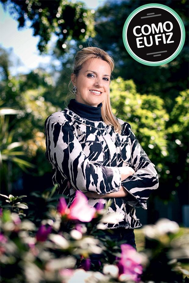 Mirela Janotti Publicitária. Escreveu o livro Força na peruca – Tragédias e comédias de um câncer, contando como enfrentou o tratamento de um tumor nas mamas  (Foto: divulgação)