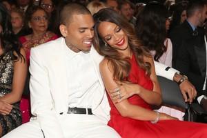 Rihanna e Chris Brown (Foto: Christopher Polk/Getty Images)