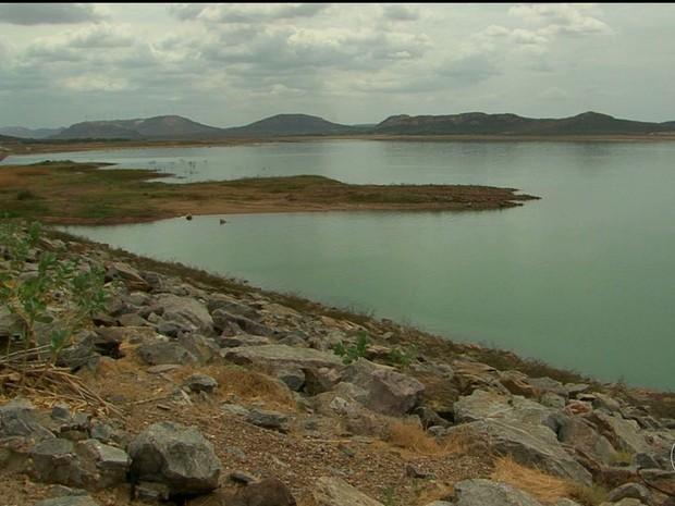 Vazão da barragem de sobradinho será reduzida a partir desta segunda (21) (Foto: Reprodução/ TV São Francisco)