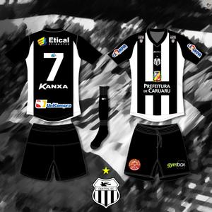 uniforme 1 do Central, série d 2015 (Foto: Divulgação / Central)