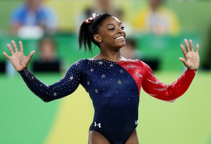 Simone Biles brigará por cinco medalhas de ouro no Rio  (Foto: Getty Images)