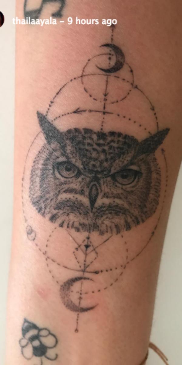 Nova tatuagem de Thaila Ayala (Foto: Reprodução/instagram)