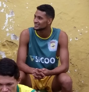Lucas, atacante do Galvez (Foto: Duaine Rodrigues)