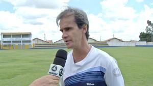 Técnico Denilson Rafaine, do Cene (Foto: Reprodução/TV Morena)