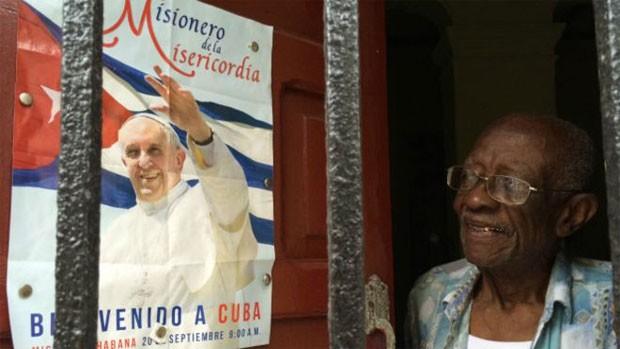 Sideo Barroso espera que papa convença EUA a acabar com embargo econômico a Cuba  (Foto: BBC)