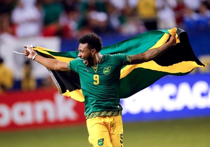 Giles Barnes Jamaica Estados Unidos Copa Ouro (Foto: AP)