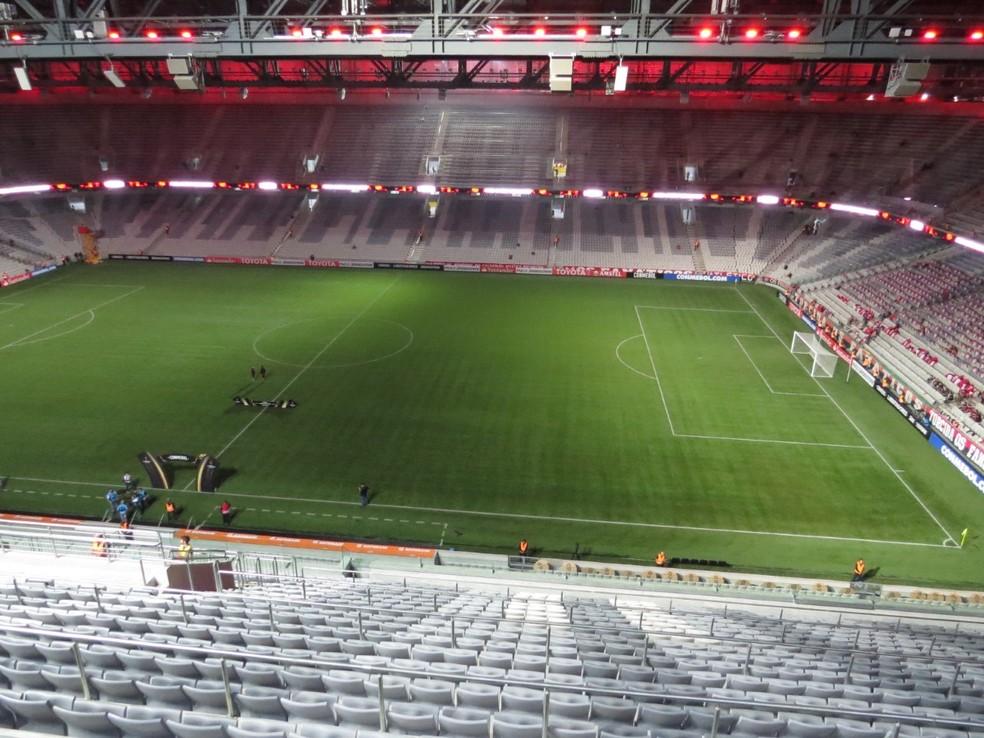 Arena da Baixada recebe Atlético-PR x São Paulo às 21h45 de quarta-feira (Foto: Fernando Freire)