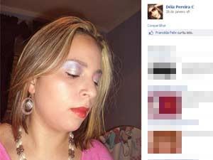 Andréia mudou nome em perfil no Facebook para evitar contato com ex, segundo parentes (Foto: Reprodução/Facebook)