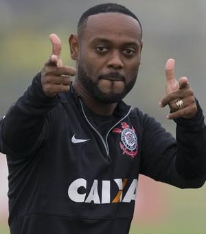 Vagner Love Corinthians (Foto: Daniel Augusto Jr/Agência Corinthians)