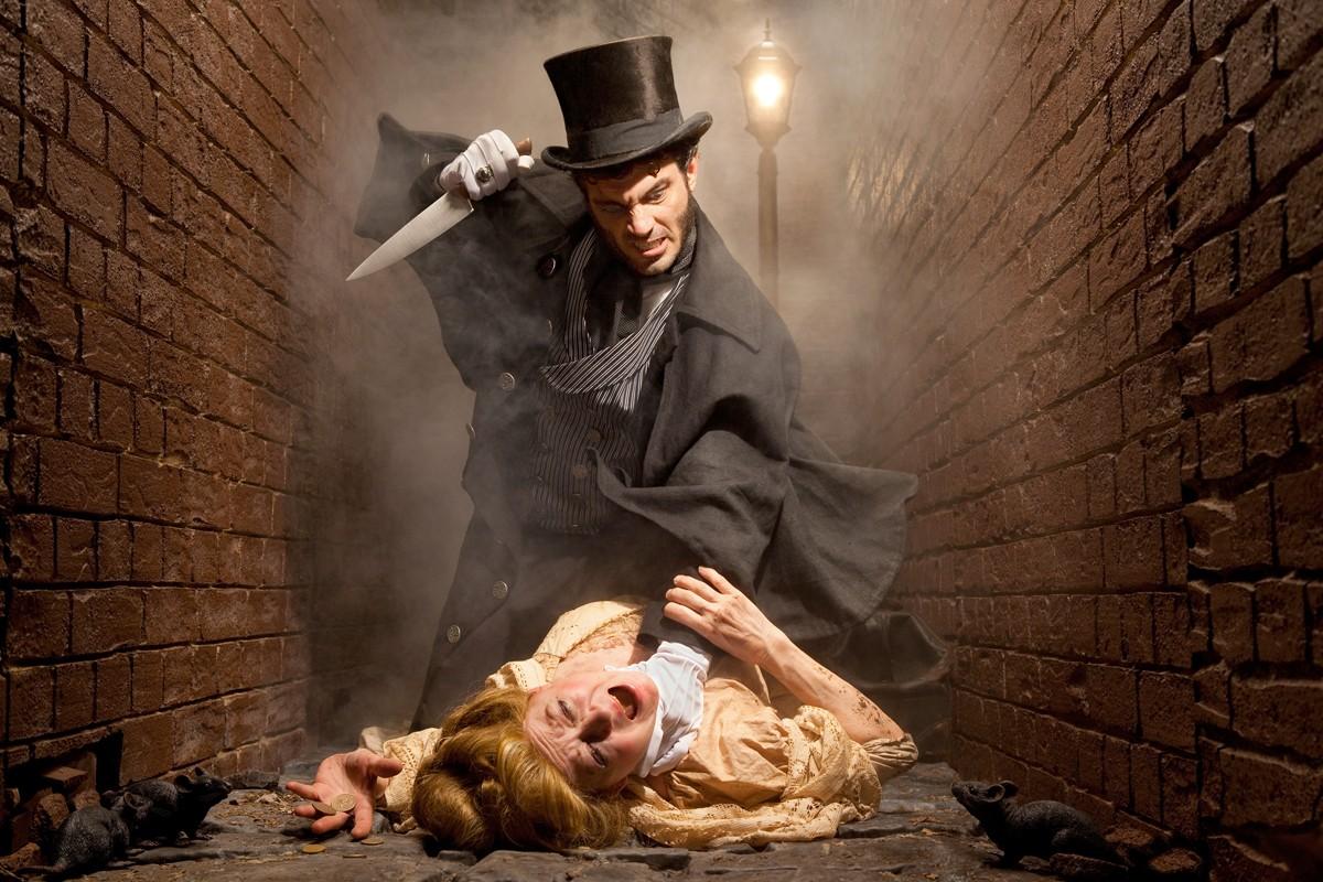 Arte retratando Jack o Estripador do fotógrafo de terror Joshua Hoffine (Foto: Reprodução)