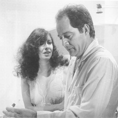 Marília Pera e Claudio Marzo em 'Quem ama não mata' (Foto: Divulgação)