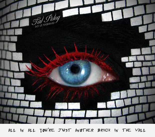 Inspiração na música da banda Pink Floyd (Foto: Reprodução/Tal Peleg)
