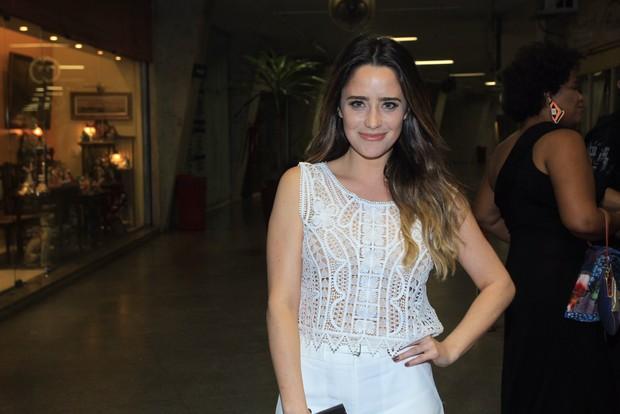 Fernanda Vasconcellos (Foto: Marcello Sá Barretto / AgNews)