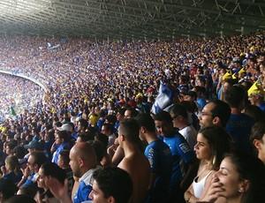 Torcida Cruzeiro Mineirão (Foto: Richard Souza)