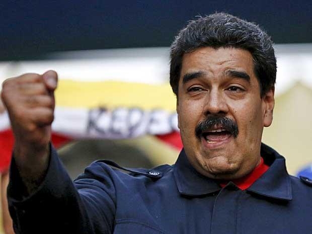 O presidente da Venezuela, Nicolás Maduro (Foto: Carlos Garcia Rawlins / Reuters)