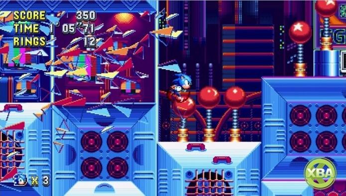 Sonic Mania traz o ouriço de volta às suas origens (Foto: Divulgação/Sega)