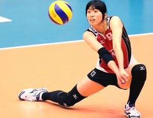 Shinnabe Risa Japão Grand Prix de vôlei (Foto: Divulgação / Fivb)