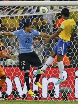 Brasil vence o Uruguai e vai à final da Copa das Confederações (Sergio Moraes/Reuters)