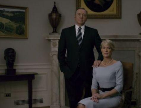 Cena da terceira temporada de 'House of cards' (Foto: Reprodução)