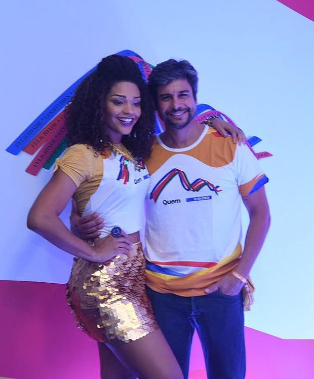 Juliana Alves e Ernani Nunes (Foto: Renato Wrobel / Editora Globo)
