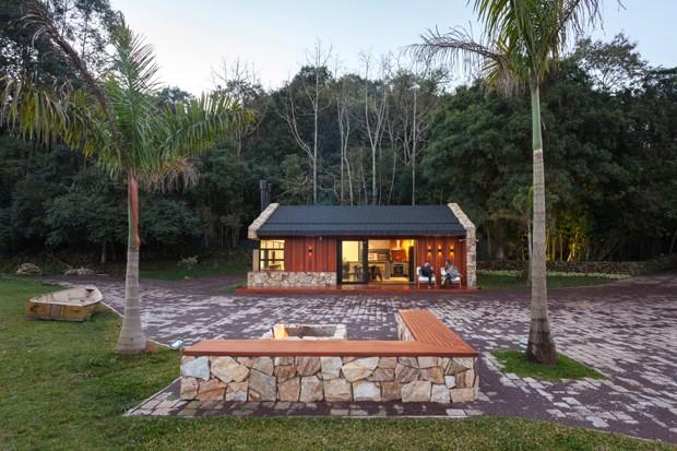 projeto-cadi-arquitetura-casa-campo-chalé (Foto: Cristiano Bauce / Divulgação)