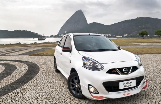 Nissan March Rio 2016 (Foto: Divulgação)