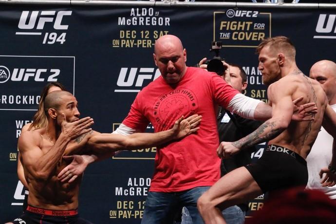 UFC 194 Aldo x McGregor pesagem  (Foto: Evelyn Rodrigues)