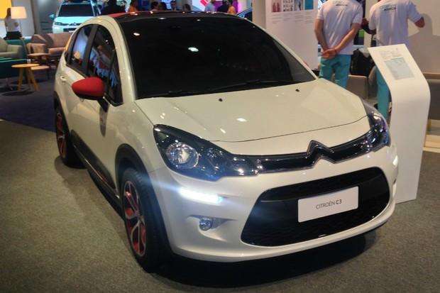 Citroën C3 City Rider foi criado para o Salão de São Paulo (Foto: Julio Cabral/Autoesporte)