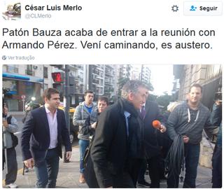 Edgardo Bauza São Paulo Argentina (Foto: Reprodução/Twitter)