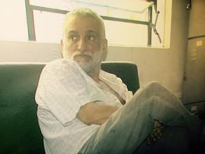 Itamar Vasconcelos foi detido pela polícia civil do Pará em Maceió (Foto: Reprodução/TV Gazeta)