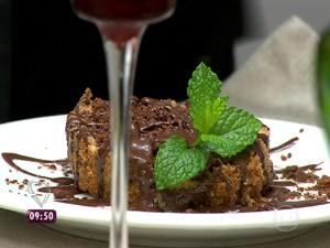 Torta de Pera com Chocolate (Foto: Mais Você/TV Globo)