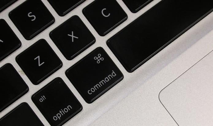 Conheça a história da tecla Command do Mac, inspirada em um castelo sueco (Foto: TechTudo/Lucas Mendes)