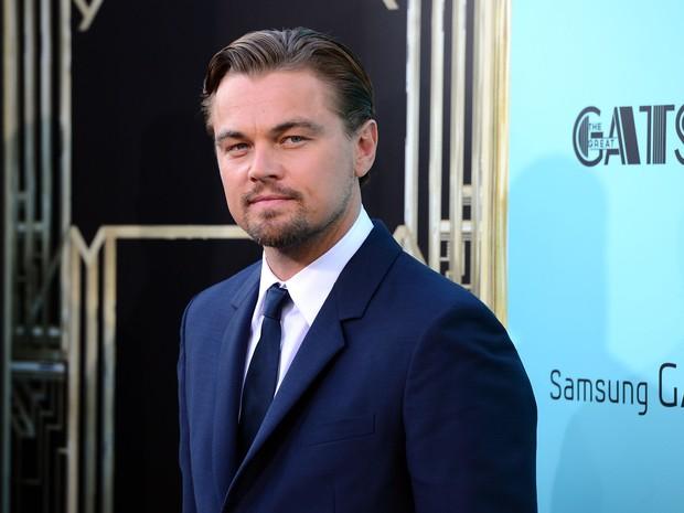 Leonardo DiCaprio em première de filme em Nova York, nos Estados Unidos (Foto: Don Emmert/ AFP)