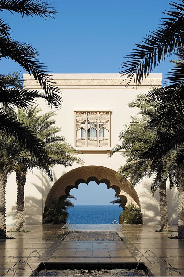 The Al Husn Courtyard at the Shangri-La Muscat (Foto: HERBERT FERNANDES)