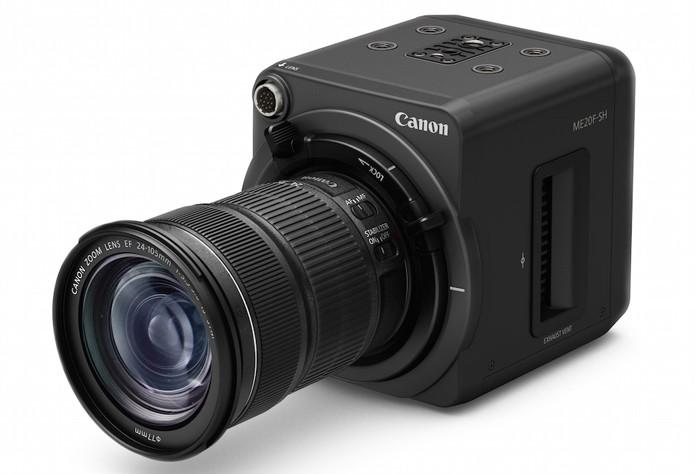 Câmera profissional pode ser interessante para quem precisa gravar imagens em situações de muito pouca luz (Foto: Divulgação/Canon)