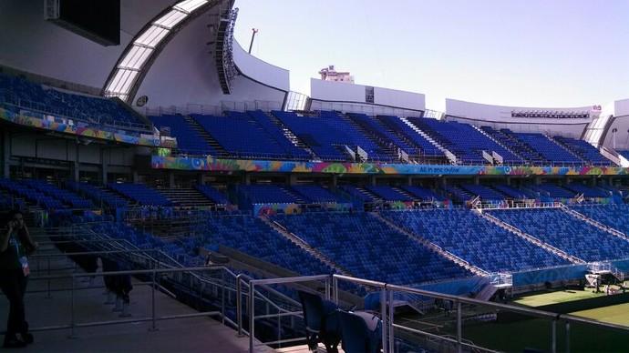 Arena das Dunas (Foto: Fred Carvalho/GloboEsporte.com)