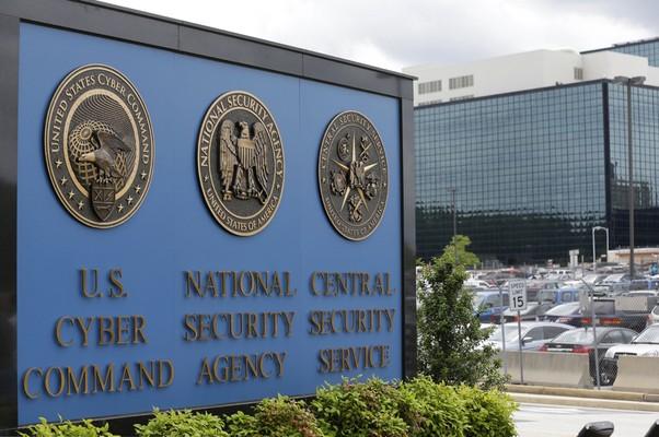 Fachada do prédio da NSA, acusada de espionar ligações telefônicas de cidadãos americanos nos EUA (Foto: Patrick Semansky/AP)