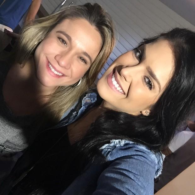 Fernanda Gentil e Débora Lyra (Foto: Arquivo pessoal)