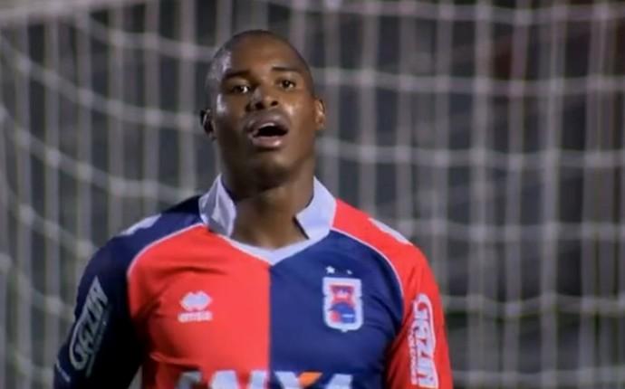 Adaílton Paraná Clube (Foto: Reprodução/SporTV)