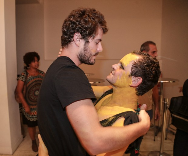 Matheus Nachtergaele e Maurício Destri (Foto: Francisco Silva/AgNews)