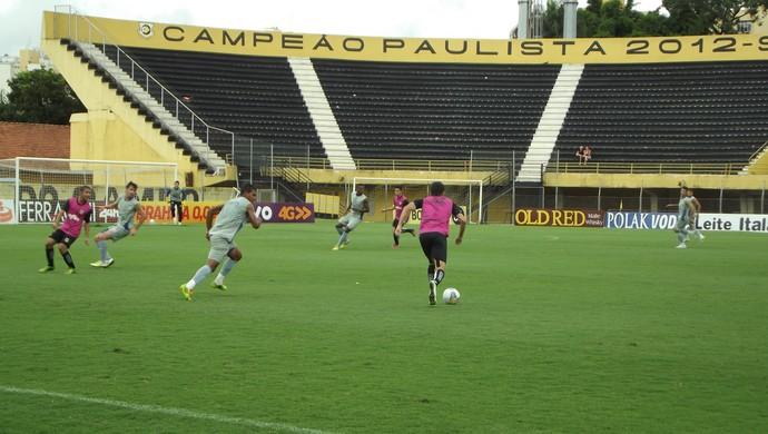 São Bernardo x São Caetano jogo-treino (Foto: Assessoria de Imprensa SBFC)