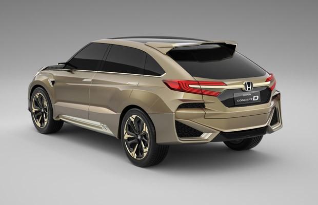Honda Concept D (Foto: Divulgação)