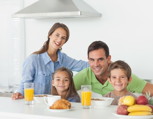 Café da manhã em família  (Foto: ThinkStock)