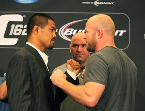 Coletiva UFC 162 Mark Muñoz e Tim Boetsch (Foto: Evelyn Rodrigues)