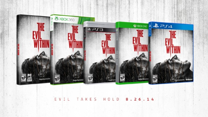 The Evil Within tem data confirmada e box art revelada (Foto: Gematsu) (Foto: The Evil Within tem data confirmada e box art revelada (Foto: Gematsu))