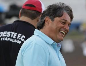 Marcelo Veiga, técnico do Botafogo-SP (Foto: Rogério Moroti/Agência Botafogo)