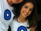 Carolina Ferraz e a filha participam de campanha