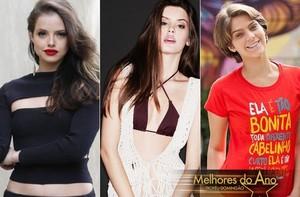 Agatha Moreira, Camila Queiroz e Isabella Santoni estão na disputa pelo prêmio de Atriz Revelação (Foto: Isabella Pinheiro/Gshow)