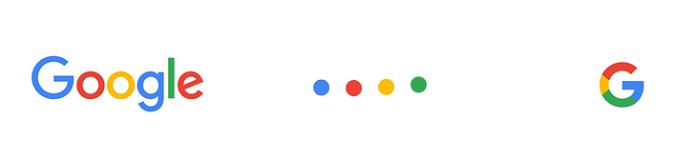 Os novos elementos da identidade visual (Foto: Divulgação/Google)